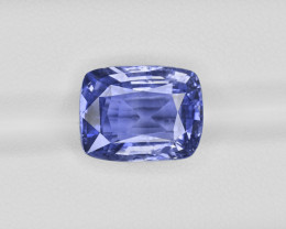 Blue Sapphire, 9.60ct - Mined in Sri Lanka | Certified by GIA & GII