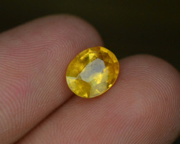 1.55 ct Natural Untreated Yellow Sapphire