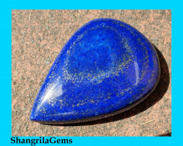 68mm 351ct Lapis Lazuli cabochon AAA