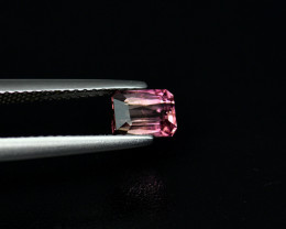 .98CT PINK Bi Color SCISSOR CUT TOURMALINE