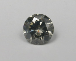 2.09ct Natural Fancy Grey Natural Diamond IGI certified + Video
