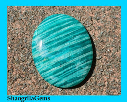 34mm Amazonite cabochon oval shape 34 by 23 by 5mm
