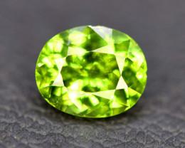 No Reserve - 2.10 Carats atural Olivine Green Natural Peridot Gemstone