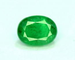 1.10 Carats Natural Rare Swat deep color Emerald gemstone From Pakistan