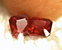 2.76 Tcw. Matched Rubies - 5.7mm - Gorgeous
