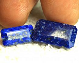 20.38 Paired Himalayan Lapis Lazuli Gemstones - Gorgeous