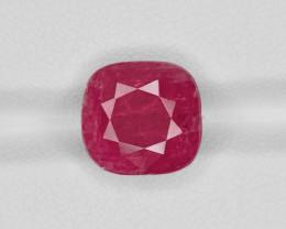 Ruby, 7.17ct - Mined in Burma | Certified by IGI