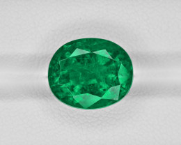 Emerald, 7.11ct - Mined in Zambia | Certified by GRS