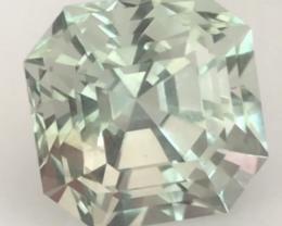 Master Cutter 8.5ct Asscher Cut Prasiolite . G606