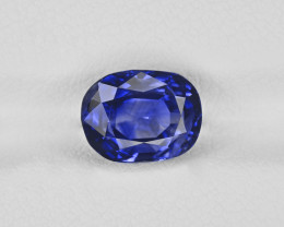Blue Sapphire, 3.06ct - Mined in Kashmir | Certified by GIA