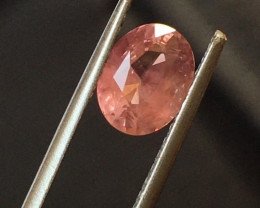 Natural Brownish pink sapphire  Loose Gemstone  Sri Lanka - New