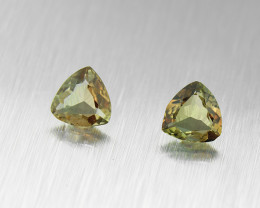 Natural Andalusite PAIR 0.65ct (01519)