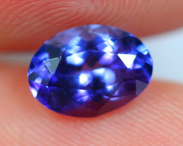 1.30cts CERTIFIED Violet Blue D Block Tanzanite / 05