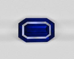 Blue Sapphire, 5.00ct - Mined in Sri Lanka   Certified by GRS