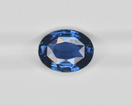 Blue Sapphire, 4.06ct - Mined in Madagascar | Certified by GRS