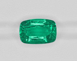 Emerald, 7.72ct - Mined in Zambia | Certified by GIA
