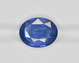 Blue Sapphire, 8.38ct - Mined in Burma | Certified by GIA