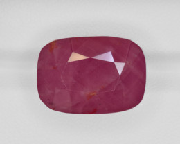 Ruby, 31.19ct - Mined in Liberia | Certified by GII