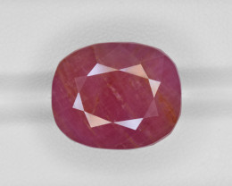 Ruby, 29.63ct - Mined in Guinea   Certified by GII
