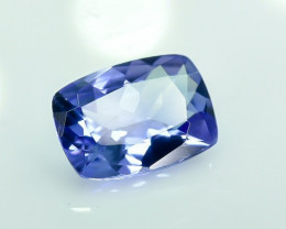 0.70 Crt Natural Tanzanite Faceted Gemstone