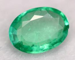 2.49Ct Colombian Emerald Natural Muzo Neon Green Emerald C2701