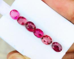 4.80 Ct Natural Reddish Transparent Rubellite Tourmaline Gems Parcels