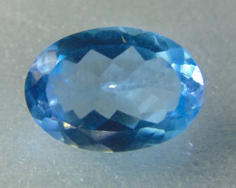 10.90cts MARVELOUS JEWELERS DREAM NATURAL ELONGATED blue TOPAZ