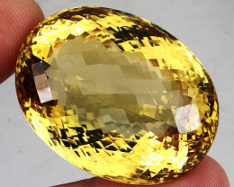 204.20 ct.   100% Natural Unheated Top Yellow Golden Citrine
