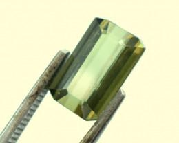 No Reserve - 2.05 Carats Grass Green Color Natural Tourmaline Gemstone