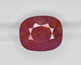 Ruby, 22.30ct - Mined in Guinea | Certified by GII