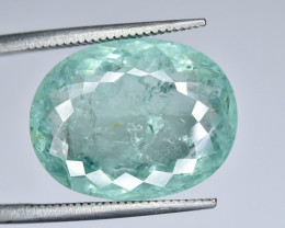 11.98 Crt Certified Paraiba Tourmaline Faceted Gemstone