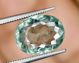 6.51 Crt Certified Paraiba Tourmaline Faceted Gemstone