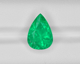 Emerald, 5.61ct - Mined in Colombia | Certified by GRS