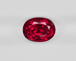 Ruby, 2.42ct - Mined in Madagascar | Certified by GRS