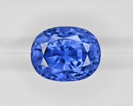 Blue Sapphire, 17.92ct - Mined in Burma | Certified by GRS