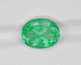 Emerald, 3.65ct - Mined in Colombia   Certified by GRS