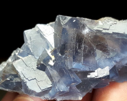 Lovely Natural color Fluorite cluster have good color 210Cts-Pakistan