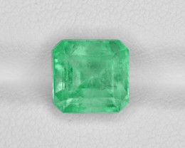 Emerald, 2.39ct - Mined in Colombia   Certified by GRS