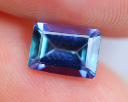 1.08cts Natural Violet Blue D Block Tanzanite / TT100
