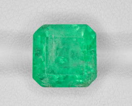 Emerald, 4.69ct - Mined in Colombia | Certified by GRS