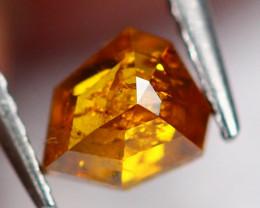 0.17Ct Fancy Golden Orange Natural Diamond C2802