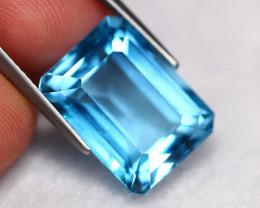 15.67Ct Blue Topaz Natural VVS Swiss Blue Topaz C2811