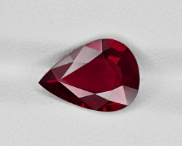 Ruby, 2.61ct - Mined in Mozambique | Certified by GRS