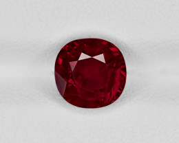 Ruby, 3.13ct - Mined in Mozambique | Certified by GRS & AIGS