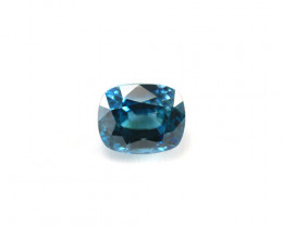 **NO RESERVE** CERTIFIED 6.52ct. CUSHION CUT BLUE ZIRCON