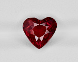 Ruby, 3.15ct - Mined in Mozambique | Certified by GRS