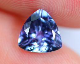 1.25cts Natural Violet Blue D Block Tanzanite / TT110
