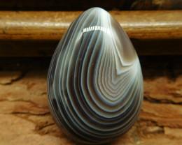 Botswana agate cabochon bead (G0519)
