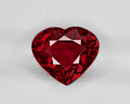 Ruby, 4.02ct - Mined in Mozambique | Certified by GRS