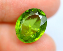 8.42cts Natural Apple Green Colour Peridot / WW11